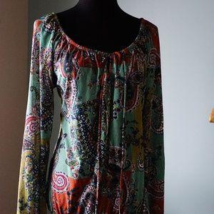 Karen Kane sheer blouse - Sz L